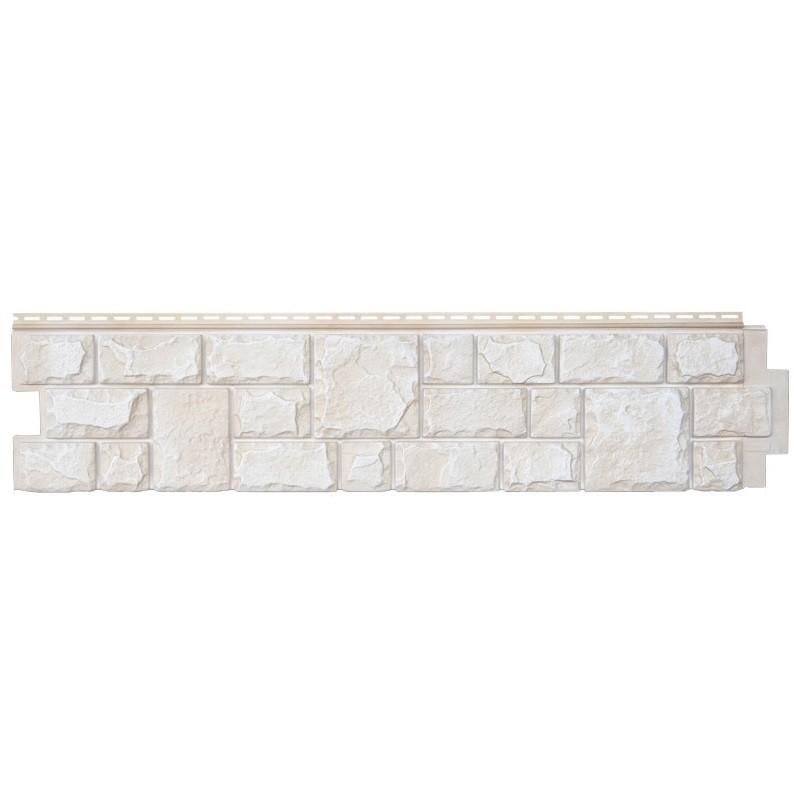 Панель фасадная Grand Line Я-фасад Екатерининский камень Слоновая кость, 1407х327 мм фото
