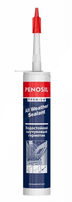 Герметик каучуковый кровельный Penosil All Weather бесцветный 310 мл.