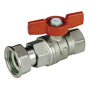 Кран шаровой Giacomini R752х003 стандартнопроходной латунный с отводом.