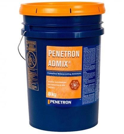 Гидроизоляционная добавка в бетон Пенетрон Адмикс, 8 кг фото