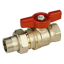 Кран шаровой Giacomini R919х006 стандартнопроходной латунный с отводом.