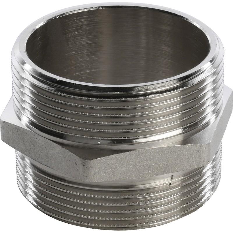 Ниппель Stout SFT-0004-000022 2 дюйма никелированный с наружной резьбой фото
