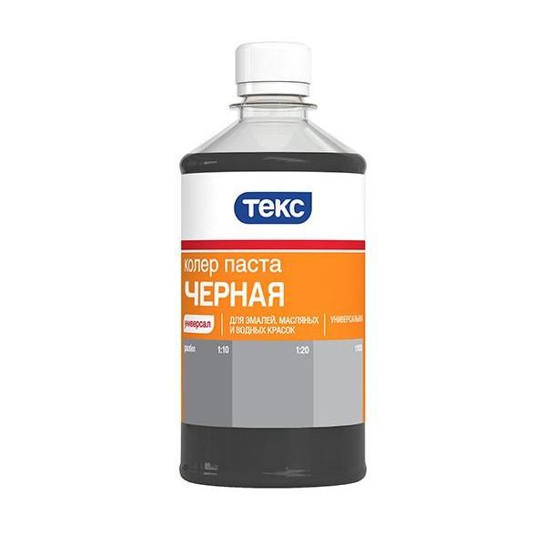 Колер-паста Текс Универсал №11 (черная), 0.5 л фото