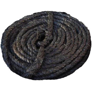 Каболка канализационная (смоляная), диаметр 6-8 мм фото