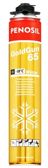 Penosil GoldGun 65 Winter 875 мл Пена монтажная зимняя.