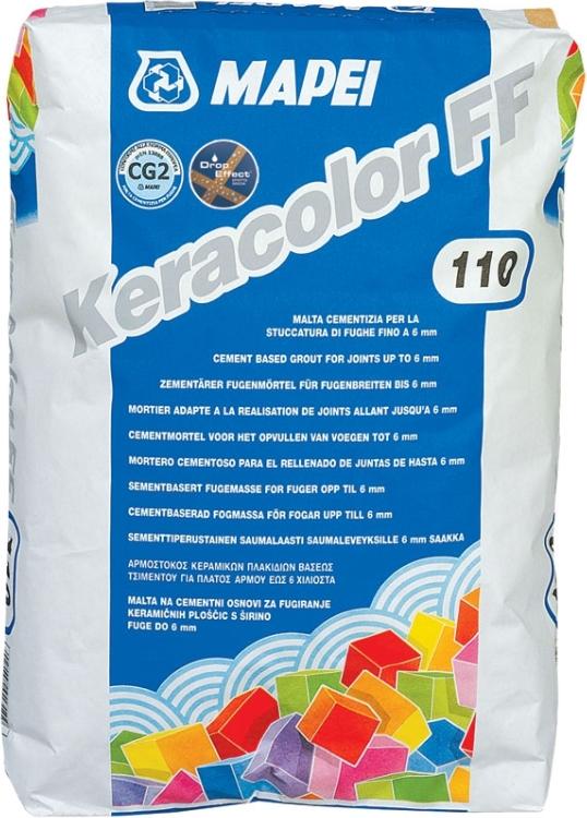 Mapei Keracolor FF 160, 5 кг, Затирка фото