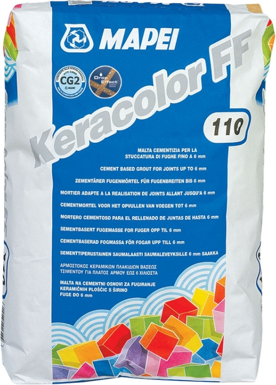 Mapei Keracolor FF 112, 5 кг, Затирка фото