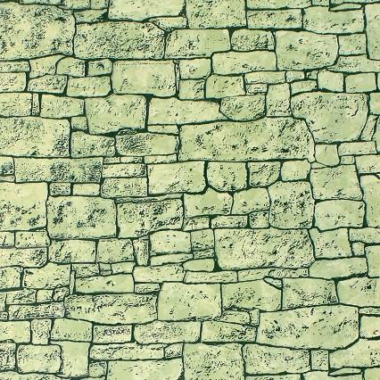 Стеновая панель МДФ Акватон Каньон Аспарагус с тиснением 2440х1220 мм фото