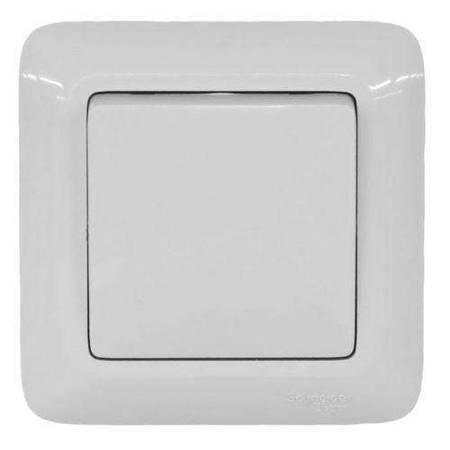 Выключатель накладной Schneider Electric Прима VS1U-116-B одноклавишный белый фото