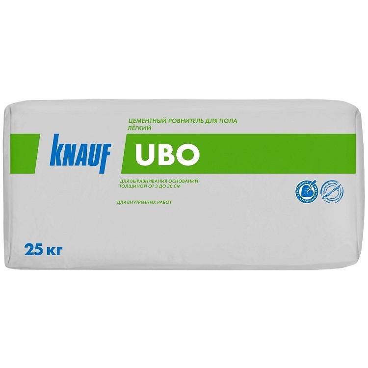 Стяжка пола Кнауф Ubo цементная легкая 25 кг фото