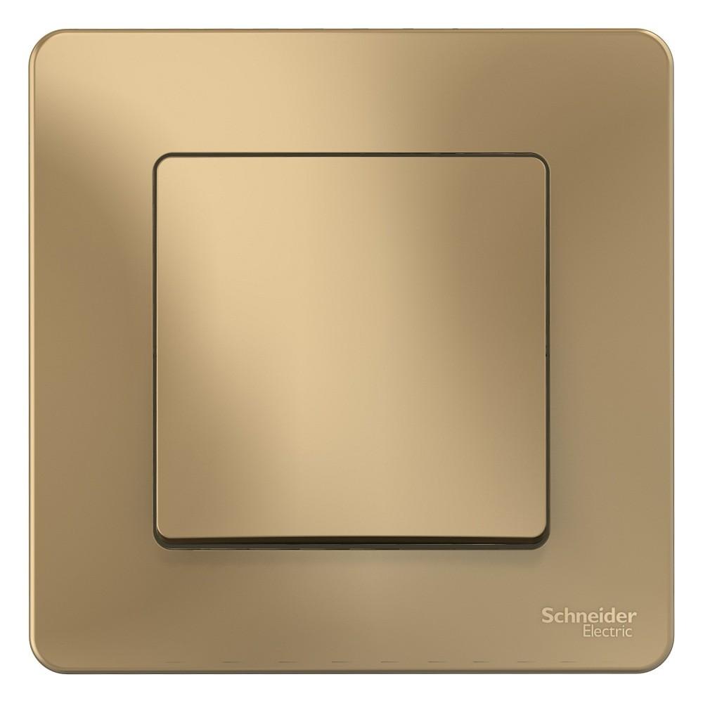 Выключатель накладной Schneider Electric Blanca BLNVS010104 одноклавишный титан фото