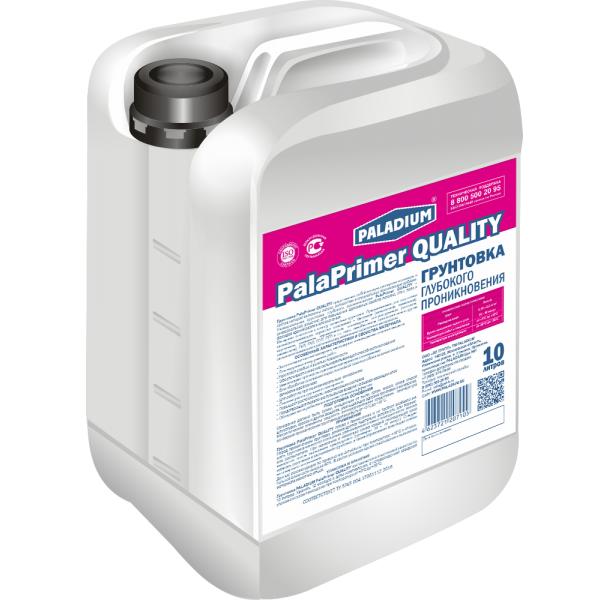 Грунтовка Paladium PalaPrimer Quality 10 л фото