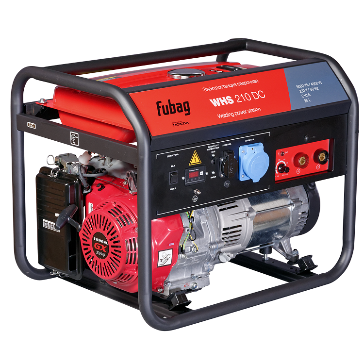 Бензиновый генератор Fubag WHS 210 DC фото