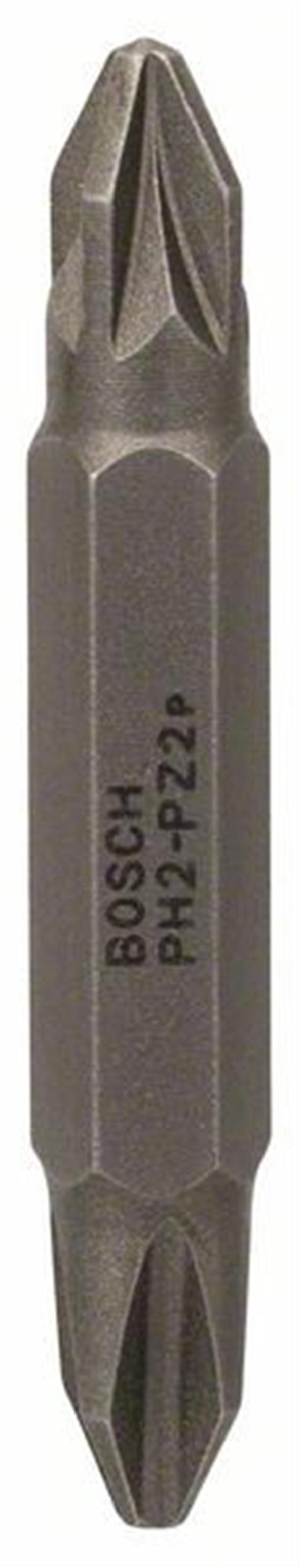 Бита для шуруповерта двусторонняя Bosch PH2/PZ2, длина