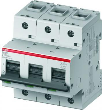 3P ABB S803N, 125А, C, Выключатель автоматический фото