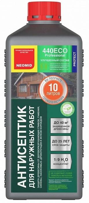 Neomid 440 Eco, 1 л, Антисептик для наружных работ фото