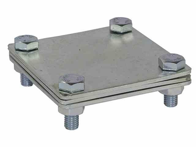 Соединитель полоса-полоса DKC, 100х100 мм фото