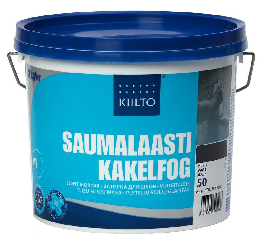 Kiilto Saumalaasti 94, 3 кг, Затирка фото