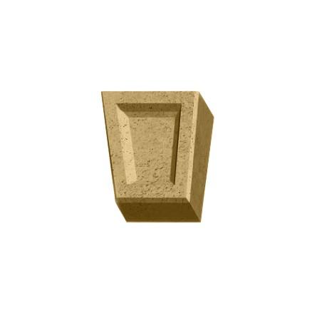 Замковый камень White Hills Тиволи 731-11 бежево-жёлтый, Бежевый
