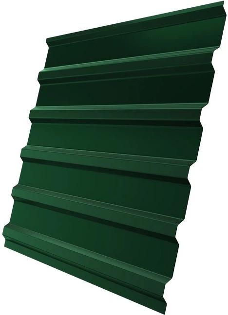 С20 1100х2000 мм RAL 6005 0.5 мм, Профнастил (зеленый мох) фото