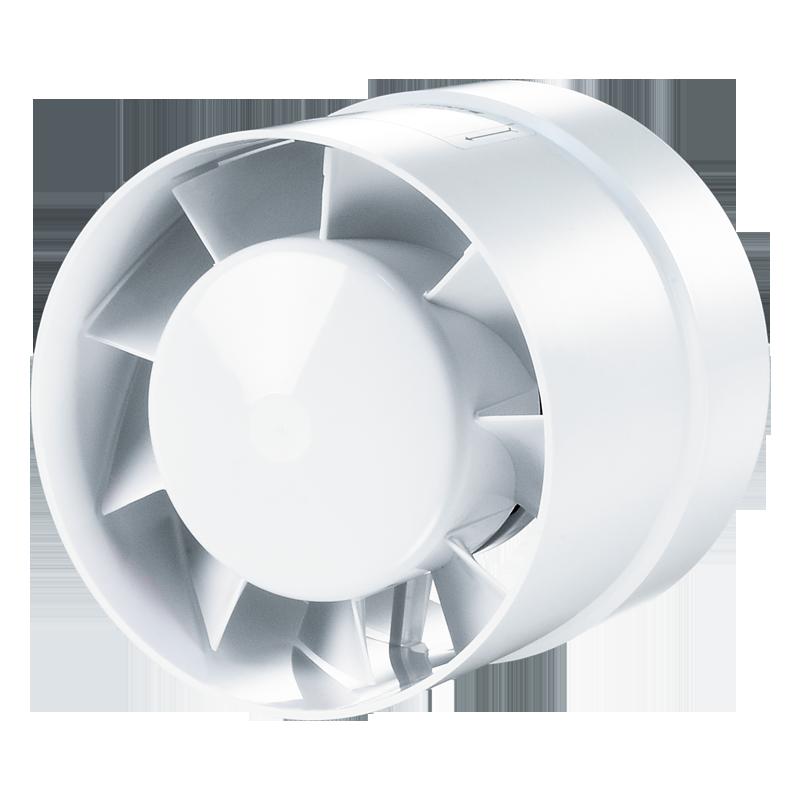 Вентс 125 ВКО Турбо, 125 мм, Вентилятор канальный осевой фото