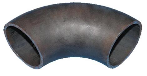 Отвод 90° Дн 69х3.5 мм (Ду 76), стальной бесшовный крутоизогнутый под сварку фото