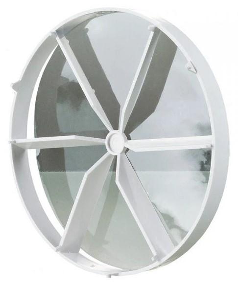 Обратный клапан пластиковый Vents КО 125, диаметр 125 мм фото