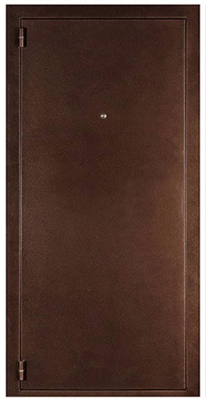 Дверь входная левая Дверной континент Стандарт медный антик 980х2050 мм.