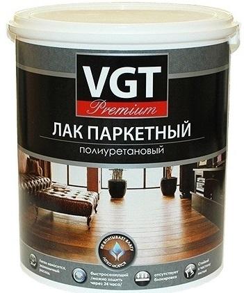 VGT Premium, 0.9 кг, Лак паркетный фото