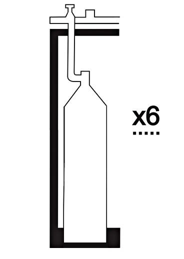 Газовая рампа кислородная РКР- 6с1 фото