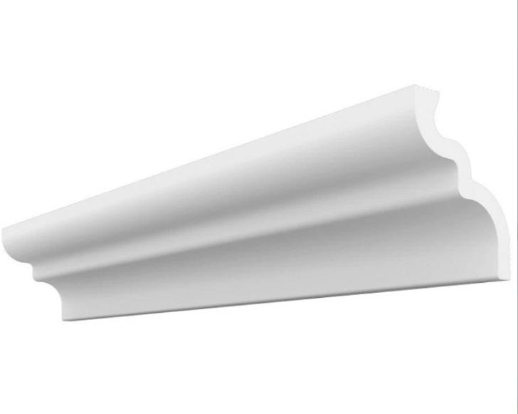 Плинтус потолочный Де-Багет П 02 65/80, 2000х80х65 мм фото
