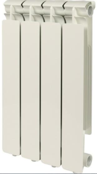 Радиатор алюминиевый Stout Bravo 500, 4 секции фото