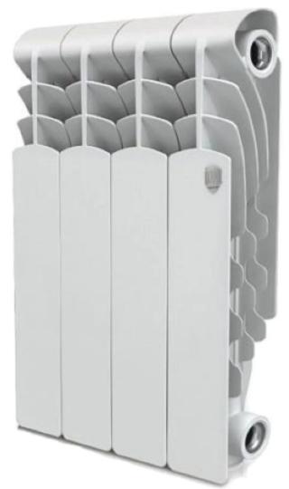 Радиатор алюминиевый Royal Thermo Revolution 350, 4 секции фото