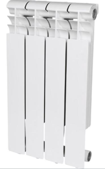Радиатор алюминиевый Rommer Profi 500, 4 секции фото