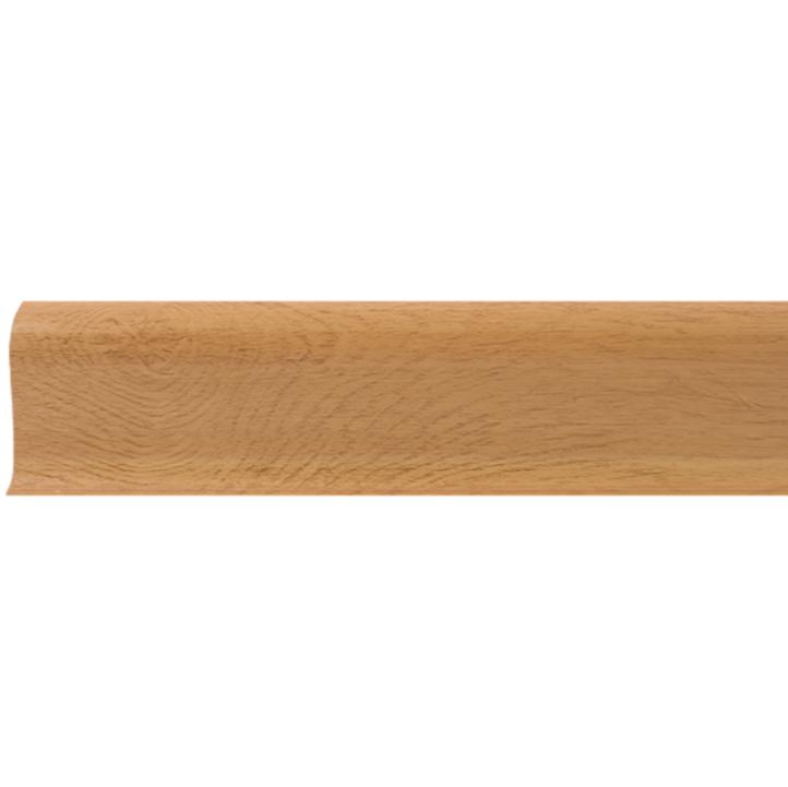 Плинтус ПВХ Line Plast L038 (дуб золотой), 2500х58х22 мм фото