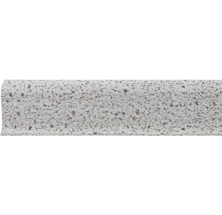 Плинтус ПВХ Line Plast L043 (серый гранит), 2500х58х22 мм фото