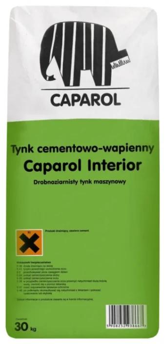 Caparol Interior, 25 кг, Штукатурка известково-цементная фото