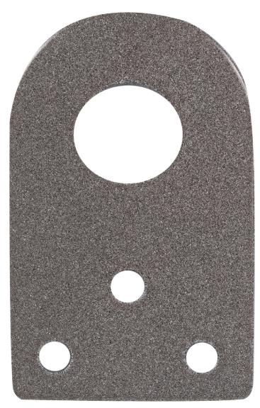 Проушина для навесного замка 65х40х2.5 мм, диаметр 16 мм фото