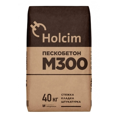 Holcim М300 40 кг Пескобетон.