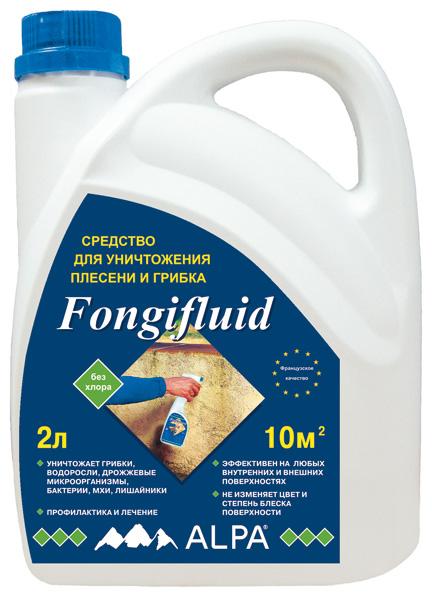 Alpa Fongifluid, 0.5 л, Противогрибковое средство фото