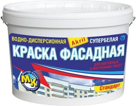 Мастер Класс, 40 кг, Краска фасадная акриловая фото