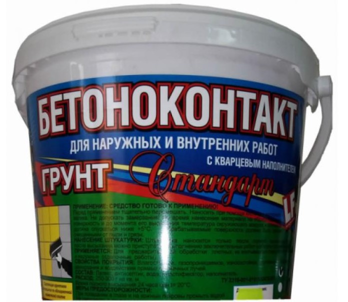 Мастер Класс Бетоноконтакт Стандарт, 20 кг, Грунтовка для бетона фото