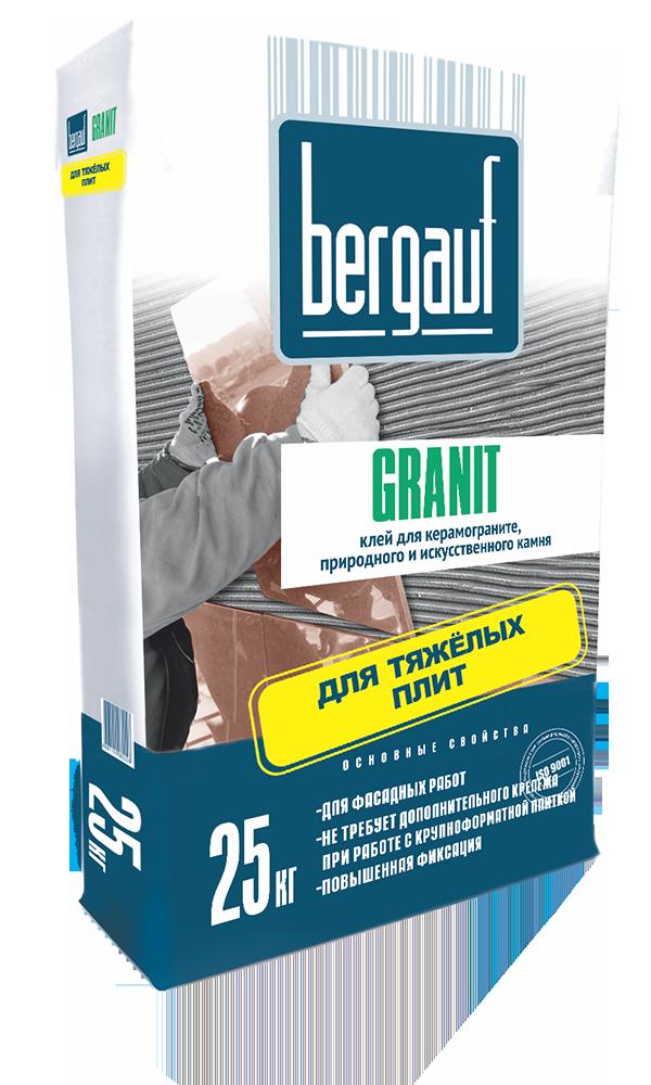 Bergauf Granit, 25 кг, Клей для плитки