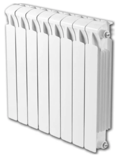 Радиатор биметаллический Rifar Monolit 350/100, 8 секций фото