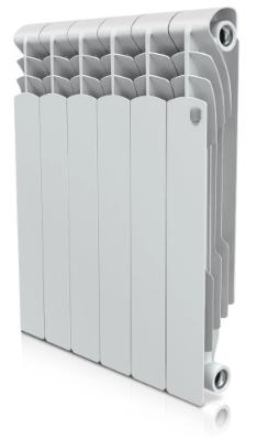 Радиатор биметаллический Royal Thermo Revolution Bimetall 500, 6 секций фото