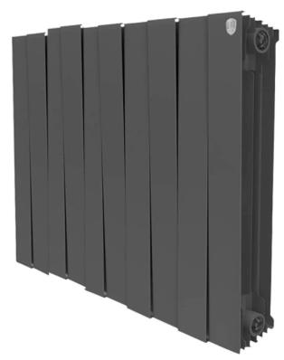 Радиатор биметаллический Royal Thermo PianoForte 500 Noir Sable, 10 секций фото