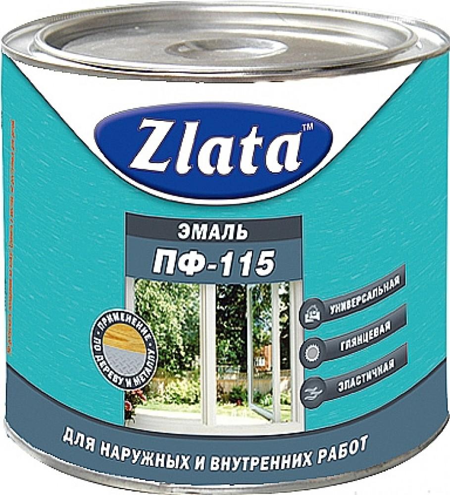 Zlata ПФ 115 1.9 кг, Эмаль алкидная