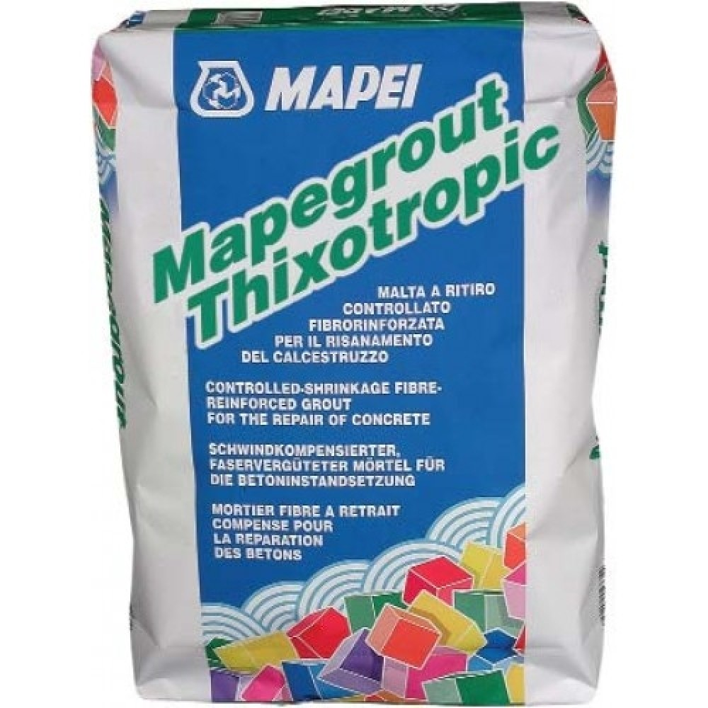 Mapei Mapegrout Thixotropic, 25 кг, Ремонтный состав