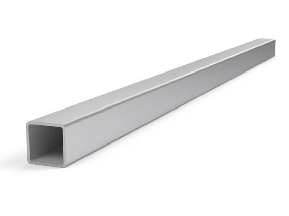 Труба 60х60 мм, 3 мм, профильная квадратная фото