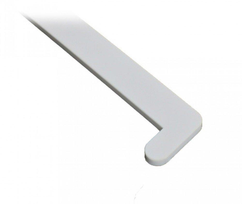 Эколайн 70 см, Заглушка для подоконника ПВХ правая (черная)